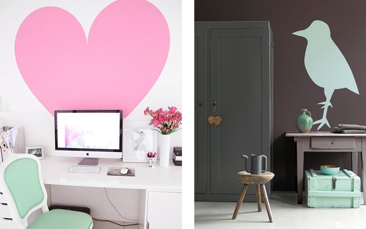 d co 20 id es diy pour relooker un mur justagirl. Black Bedroom Furniture Sets. Home Design Ideas