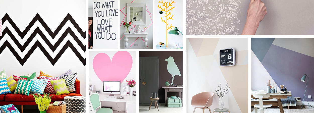 D co 20 id es diy pour relooker un mur justagirl for Mur de photo deco
